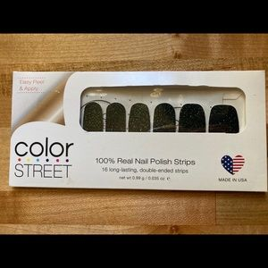 """RETIRED """"All Spruced Up"""" Color Street Nail Strips"""